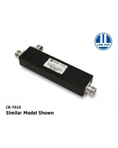 6dB Low PIM Coupler 350-2700MHz 300W 7-16