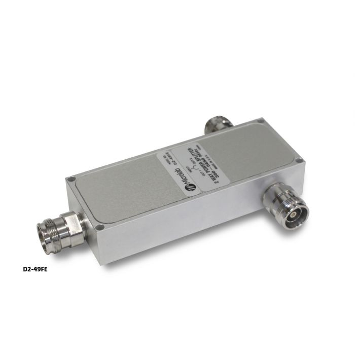 2-way Wilkinson Splitter 350-5850MHz 10W 4.3-10
