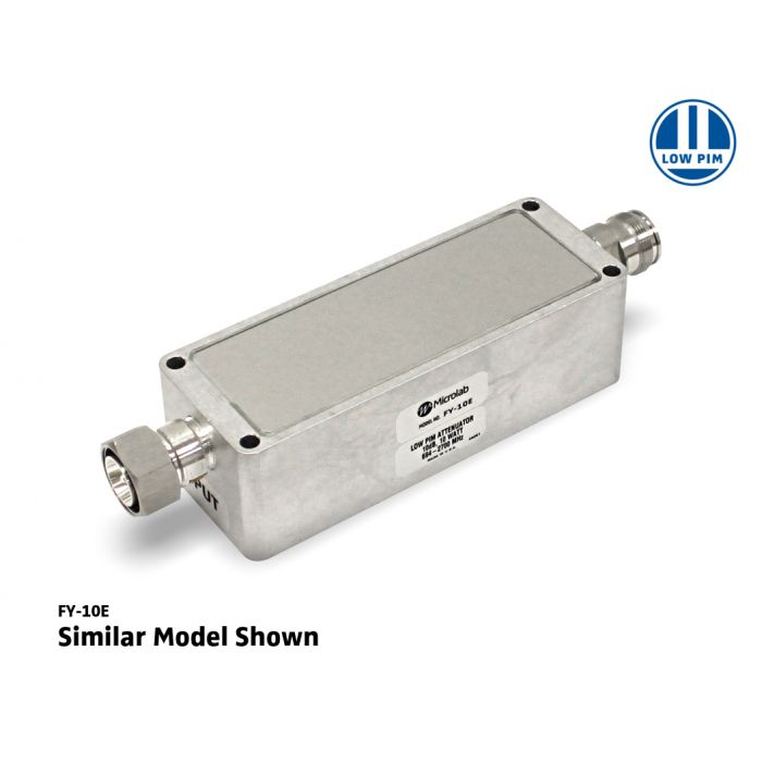 10dB Attenuator 617-2700MHz 20 W N-type -161dBc IP67