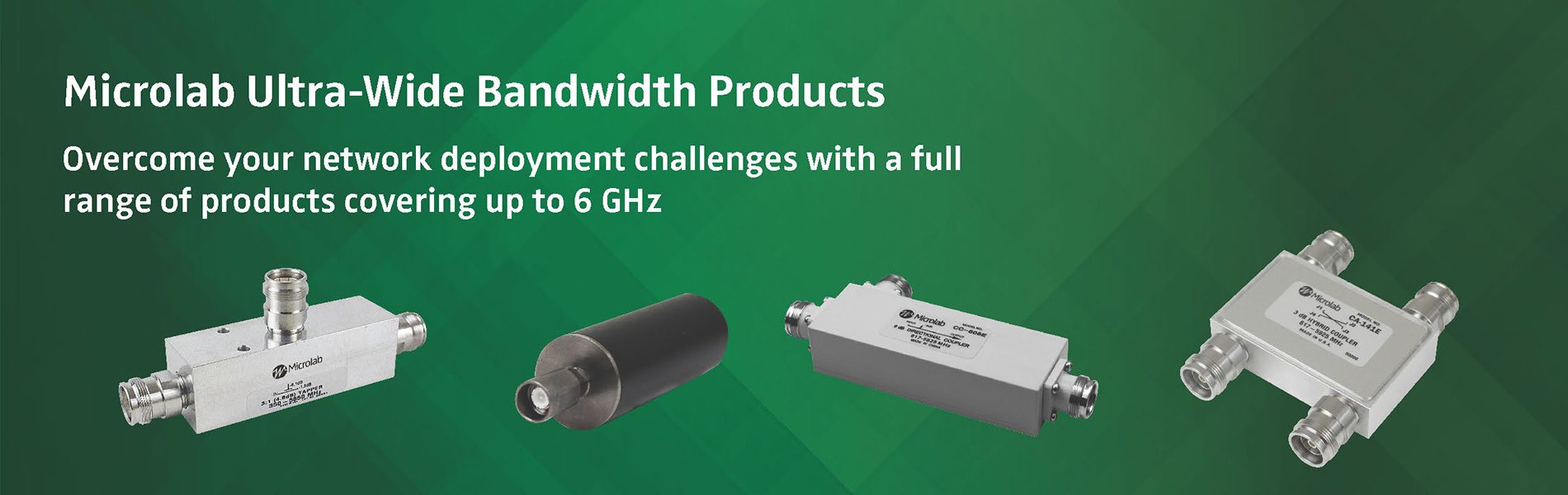 Microlab Ultra-Wide Bandwidth Products