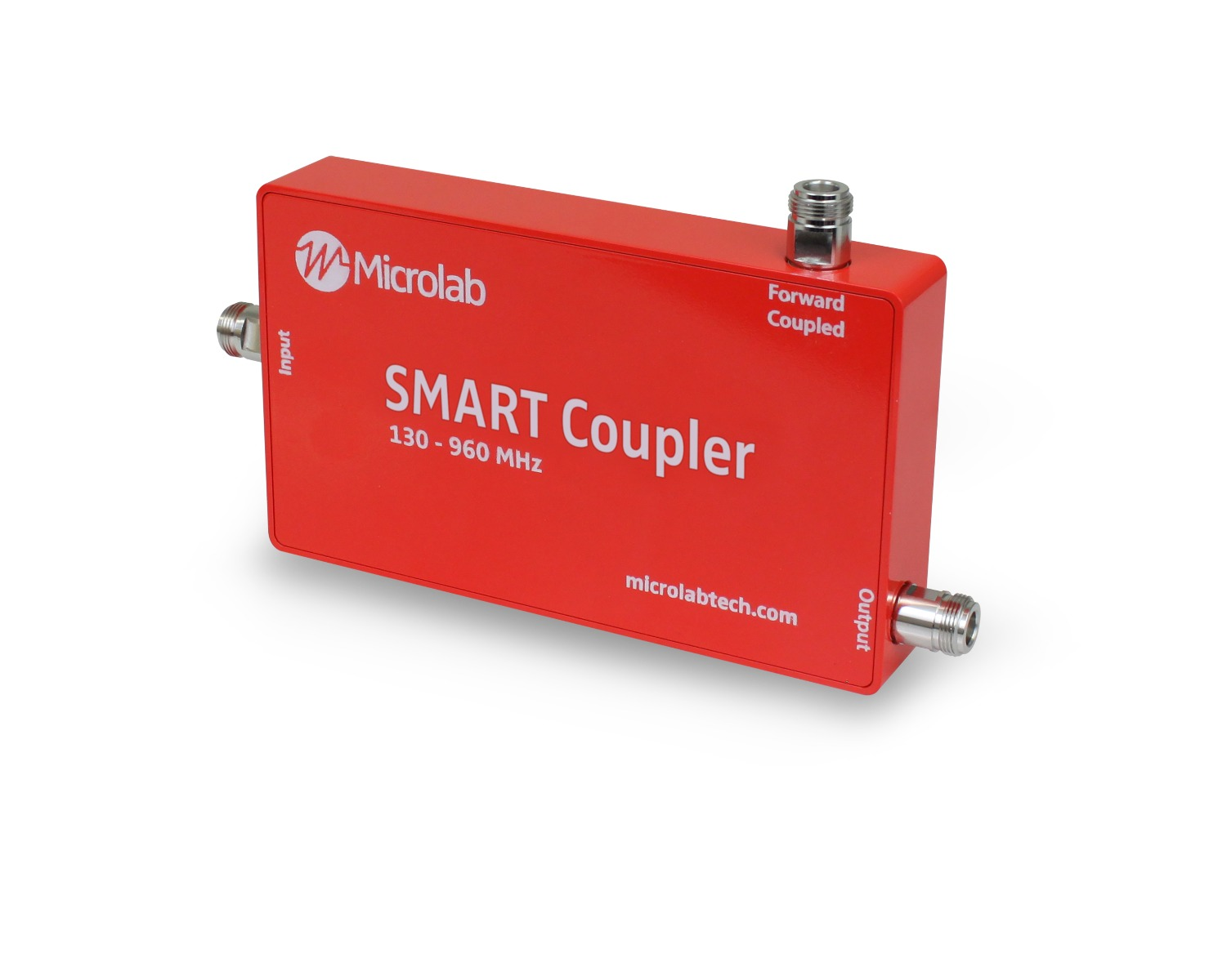 The Microlab SMART Coupler is a specially designed, broadband, passive coupler enclosed with active circuitry to enable real-time public safety DAS monitoring.